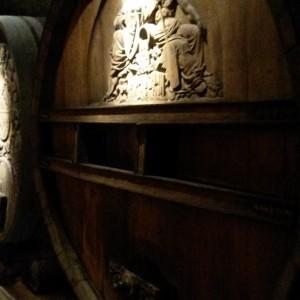 Hier Stehen Noch Alte Weinfässer...