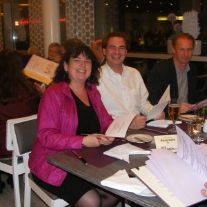 Get-together: Anke Budde, Alexander Schulten, Ralf Wiesehöfer