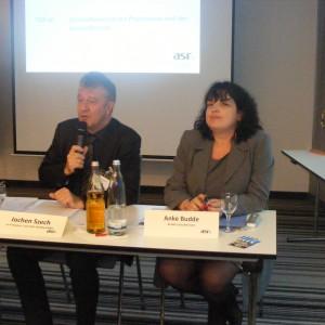 Jochen Szech (Präsident), Anke Budde (Schatzmeisterin)
