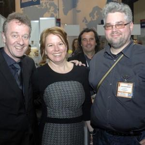 J. Szech (asr Vizepräsident), C. Weiß (asr Schatzmeisterin) & T. Iserlohe (asr Vorstand)