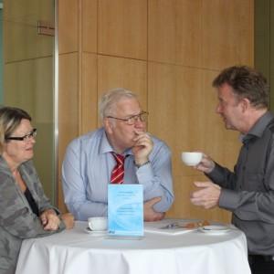 H. Jachmann (EuroMed), W. Müller (Schmetterling Reisen) & J. Szech (GoEast Reisen)