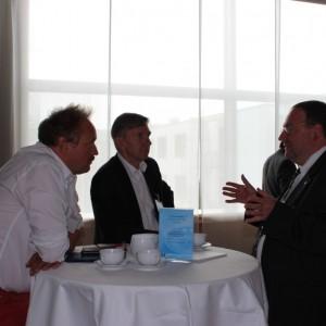 N. Schmidt (MDT), N. Pfefferlein (TCME), T. Dippe (Thomas Cook Reisebüro)