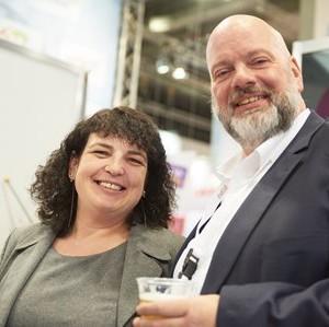 Asr-Mitglied Martin Pundt (invatarru) Mit Anke Budde
