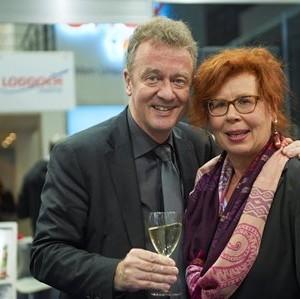 Präsident Jochen Szech Mit FVW Redakteurin Ira Lanz