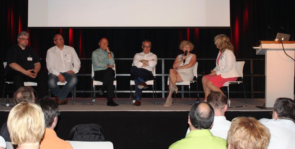 Podiumsgespräch Mit Timo Iserlohe, Bernhard Koller, Rolf Schrader, Michael Buller Und Birgit Aust. Moderation: Vivien Manazon