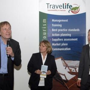 N. Kusters (Projektleiter Travelife), G. Baumgarten-Heinke (asr Geschäftsstellenleitung) & S. Raich (asr Projektleiter Travelife)