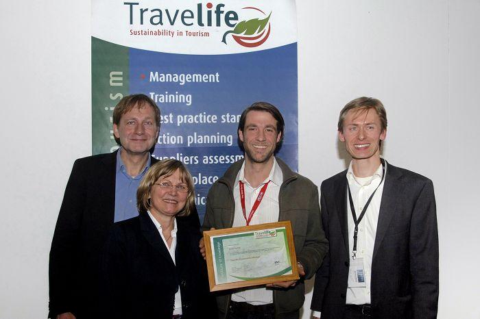 Auszeichnung Travellife Koordinator Arne Gudde (Langsamreisen)
