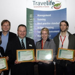 Auszeichnung Travellife Koordinatoren