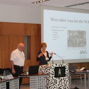 Vorstellung Der WATA Durch Christine Fournier Und Detlef Meyer