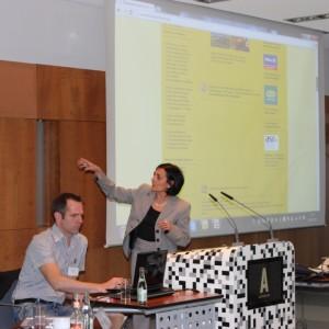Vorstellung Asr Linknetzwerk Durch Asr Mitglieder Elisa Santoni Und Roland Delion