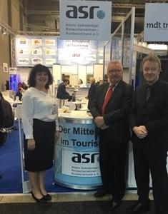 Jürgen Klimke (CDU) Mit Jochen Szech, Anke Budde Im Austausch über Tourismus Und Die Bedeutung Im Mittelstand