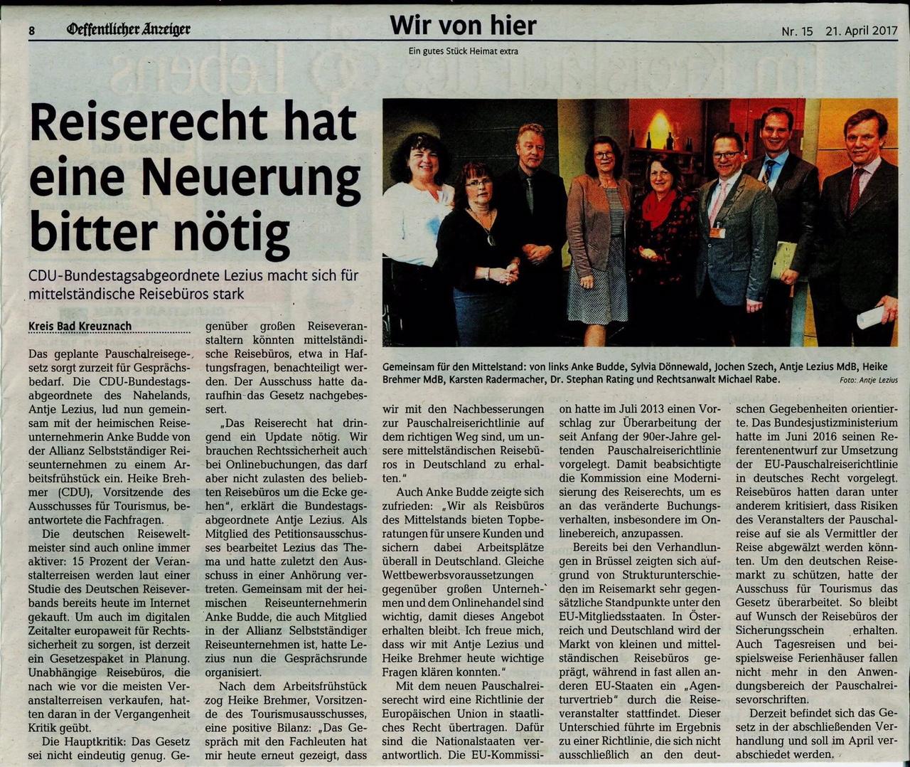 asr-pauschalreiserichtlinie-bundestag-brehmer-lezius-tourismusausschuss