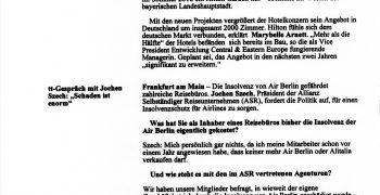 Interwiew-travel-tribune-asr-Jochen-Szech-Airline-Insolvenz-Sicherungsschein -Forderung-Mittelstand